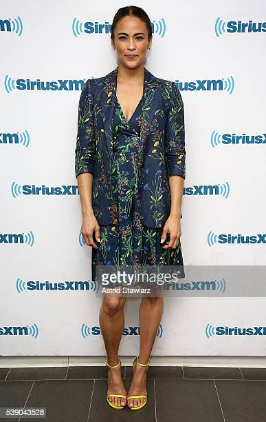 Actress Paula Patton visits the SiriusXM Studios on June 9 2016 in New York City