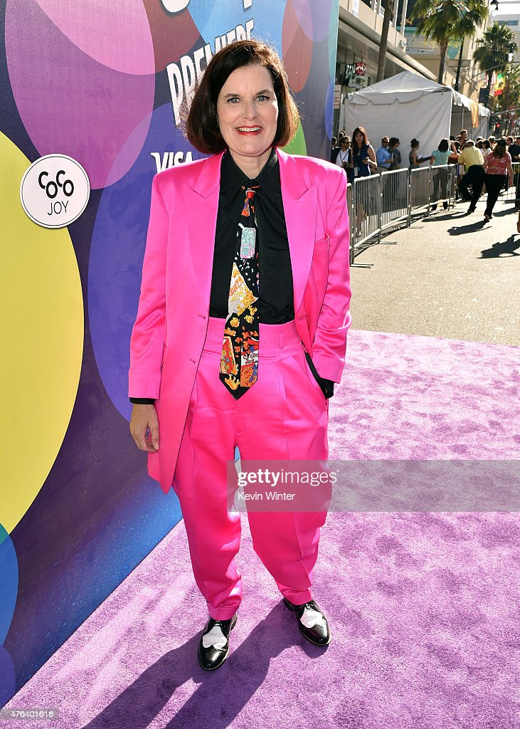 Actress Paula Poundstone attends the Los Angeles premiere of Disney-Pixar's 'Inside Out' at the El Capitan Theatre on June 8, 2015 in Hollywood, California.