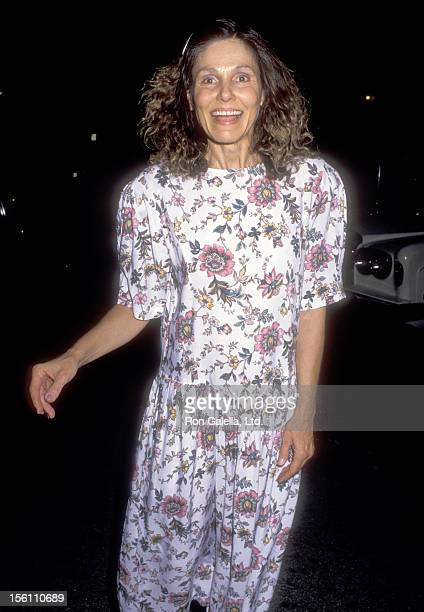 Actress Paula Prentiss attends the Wedding Reception for Neil Simon and Diane Lander on February 10 1990 at The Bistro in Beverly Hills California