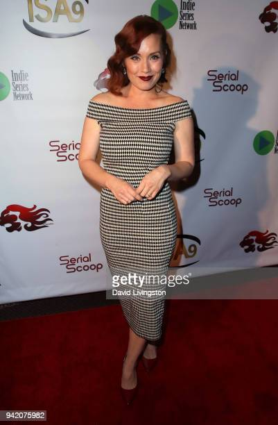 Actress Paula Rhodes attends the 9th Annual Indie Series Awards at The Colony Theatre on April 4, 2018 in Burbank, California.