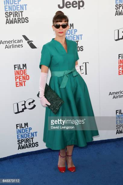 Actress Paula Roman attends the 2017 Film Independent Spirit Awards on February 25 2017 in Santa Monica California
