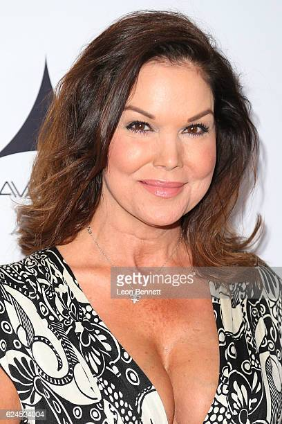 Actress Paula Trickey arrive at the Los Angeles Police Memorial Foundation Celebrity Poker Tournament Party Arrivals at Avalon Hollywood on November...