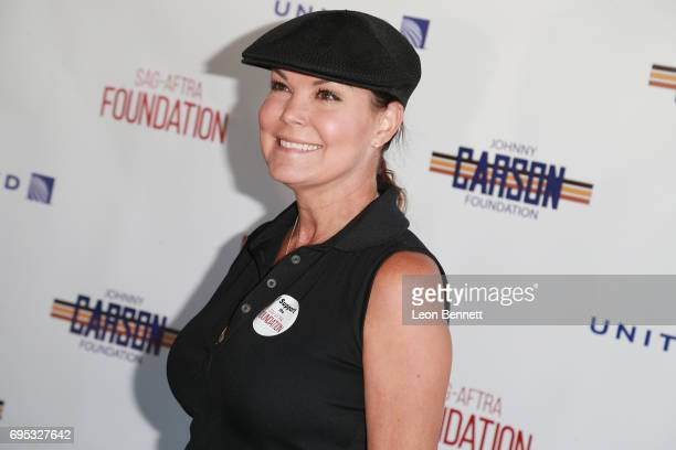 Actress Paula Trickey arrives at SAGAFTRA Foundation's 8th Annual Los Angeles Golf Classic on June 12 2017 in Burbank California