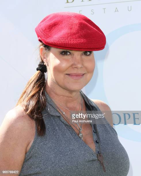 Actress Paula Trickey attends the 11th annual George Lopez Celebrity Golf Classic at Lakeside Country Club on May 7 2018 in Toluca Lake California