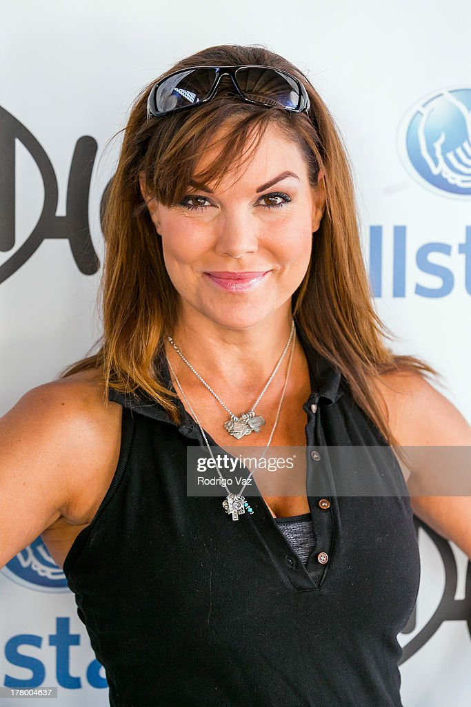 Actress Paula Trickey attends the 2nd Annual Dennis Haysbert Humanitarian Foundation Celebrity Golf Classic at Lakeside Golf Club on August 26, 2013 in Burbank, California.