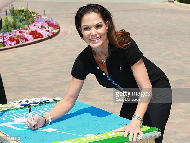 Actress Paula Trickey attends the 2nd Annual SAG Foundation Golf Classic at El Caballero Country Club on June 13 2011 in Tarzana California