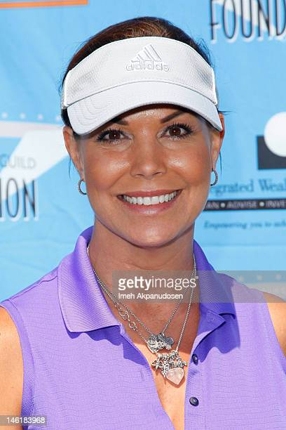 Actress Paula Trickey attends the 3rd Annual SAG Foundation Golf Classic at Lakeside Golf Club on June 11 2012 in Burbank California
