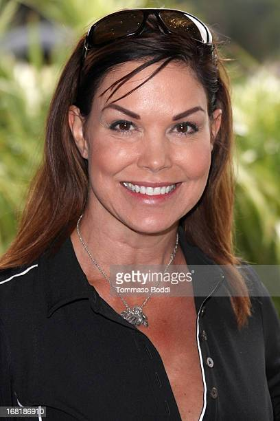 Actress Paula Trickey attends the 6th Annual George Lopez Celebrity Golf Classic to benefit The Lopez Foundation held at Lakeside Golf Club on May 6...