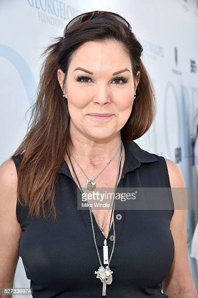 Actress Paula Trickey attends the 9th Annual George Lopez Celebrity Golf Classic to benefit The George Lopez Foundation at Lakeside Golf Club on May...