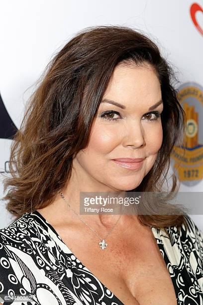 Actress Paula Trickey attends the Los Angeles Police Memorial Foundation Celebrity Poker Tournament and Party held at Avalon Hollywood on November 19...