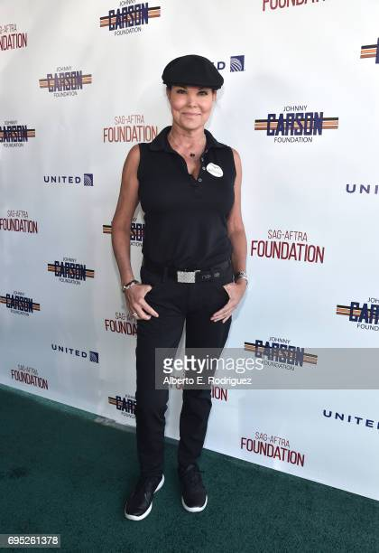 Actress Paula Trickey attends the SAGAFTRA Foundation 8th Annual LA Golf Classic Fundraiser at Lakeside Golf Club on June 12 2017 in Los Angeles...