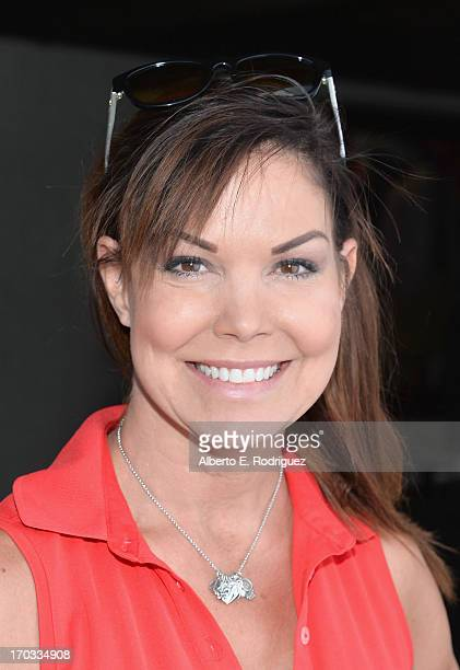 Actress Paula Trickey attends the Screen Actors Guild Foundation 4th Annual Los Angeles Golf Classic at Lakeside Golf Club on June 10 2013 in Burbank...