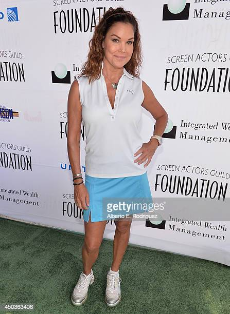 Actress Paula Trickey attends the Screen Actor's Guild Foundation's 5th Annual Actors Fore Actors Los Angeles Golf Classic at Lakeside Golf Club on...