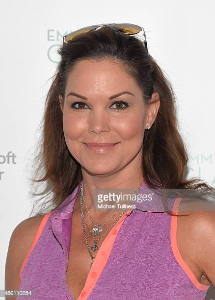 Actress Paula Trickey attends the Television Academy Foundation's 16th Annual Emmys Golf Classic at Wilshire Country Club on August 31 2015 in Los...