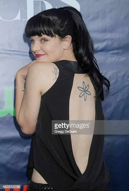 Actress Pauley Perrette arrives at the 2014 Television Critics Association Summer Press Tour CBS CW And Showtime Party at Pacific Design Center on...