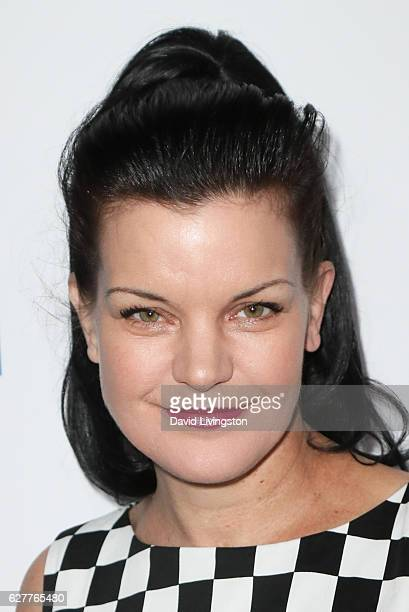 Actress Pauley Perrette arrives at the TrevorLIVE Los Angeles 2016 Fundraiser at The Beverly Hilton Hotel on December 4 2016 in Beverly Hills...