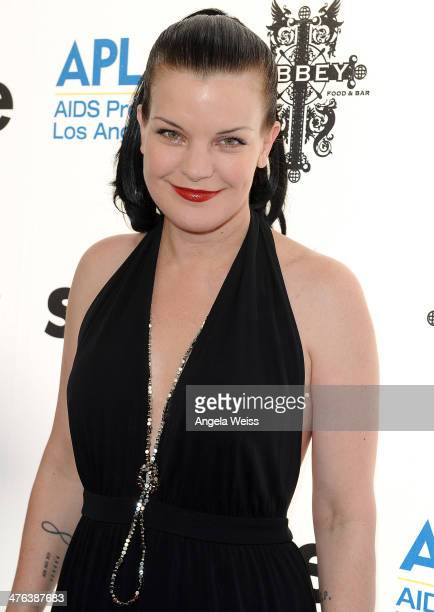 Actress Pauley Perrette attends the 13th annual The Envelope Please Oscar viewing party at The Abbey on March 2 2014 in West Hollywood California