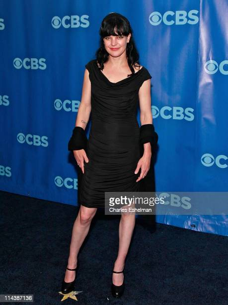 NCIS actress Pauley Perrette attends the 2011 CBS Upfront at The Tent at Lincoln Center on May 18 2011 in New York City
