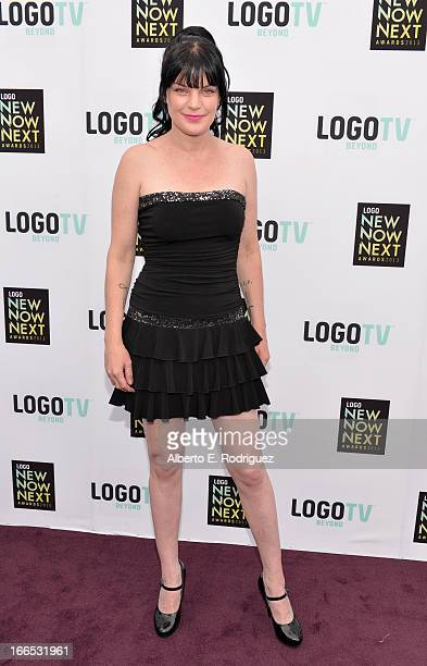 Actress Pauley Perrette attends the 2013 NewNowNext Awards at The Fonda Theatre on April 13 2013 in Los Angeles California