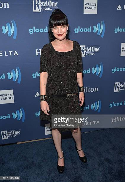 Actress Pauley Perrette attends the 26th Annual GLAAD Media Awards at The Beverly Hilton Hotel on March 21 2015 in Beverly Hills California