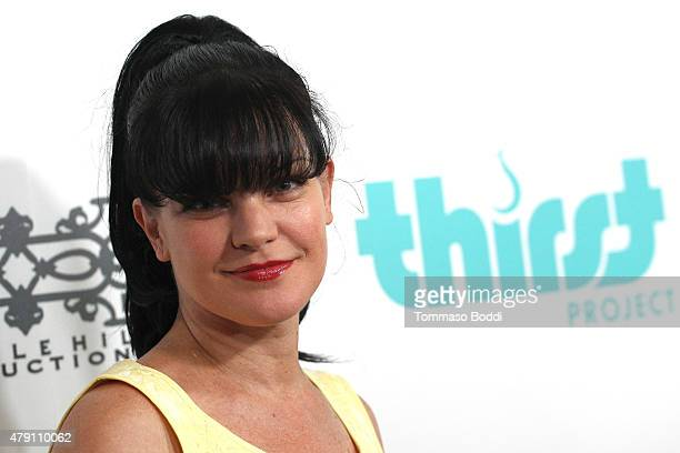 Actress Pauley Perrette attends the 6th Annual Thirst Gala held at The Beverly Hilton Hotel on June 30 2015 in Beverly Hills California