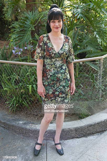 Actress Pauley Perrette attends The Greater Los Angeles Zoo Association's 43rd Annual Beastly Ball at Los Angeles Zoo on June 15 2013 in Los Angeles...