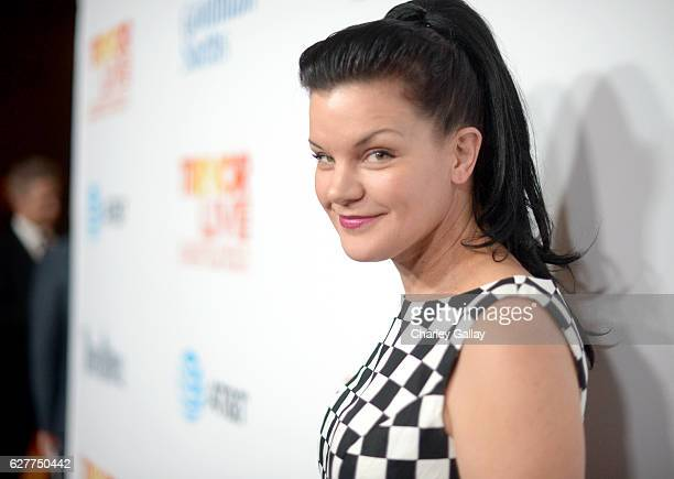 Actress Pauley Perrette attends The Trevor Project's 2016 TrevorLIVE LA at The Beverly Hilton Hotel on December 4 2016 in Beverly Hills California