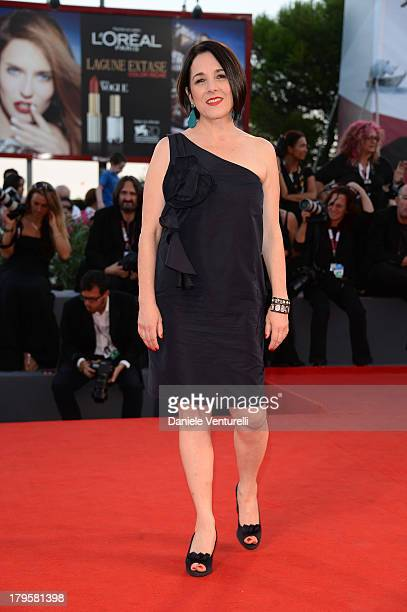 Actress Paulina García attends 'La Jalousie' Premiere during the 70th Venice International Film Festival at the Sala Grande on September 5 2013 in...