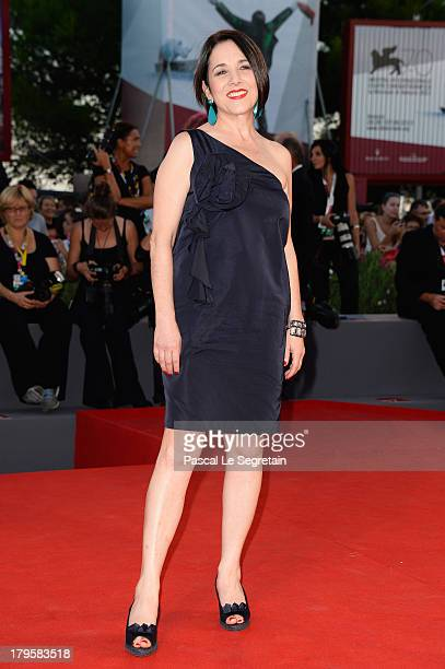 Actress Paulina García attends the 'Jealousy' Premiere during the 70th Venice International Film Festival at the Palazzo del Cinema on September 5...