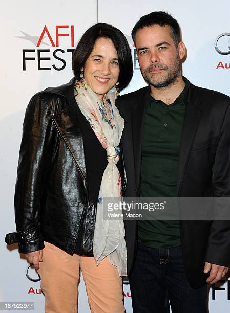 Actress Paulina Garcia and director Sebastian Lelio attend the photo call for 'Gabrielle' 'Gloria' 'Bethlehem' and 'A Spell to Ward Off the Darkness'...