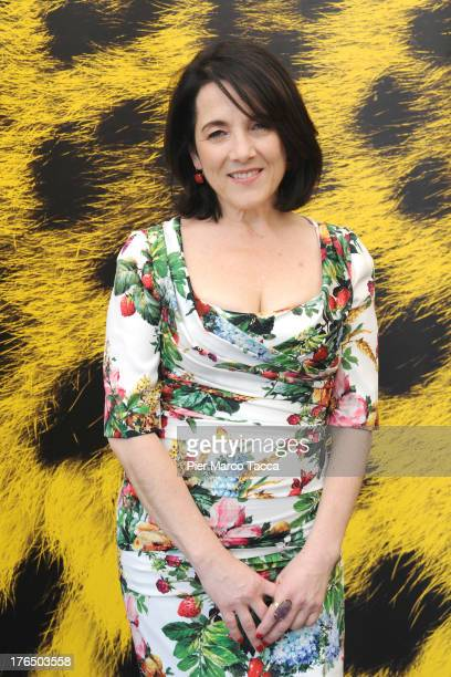Actress Paulina Garcia attends 'Gloria' photocall during the 66th Locarno Film Festival on August 14 2013 in Locarno Switzerland