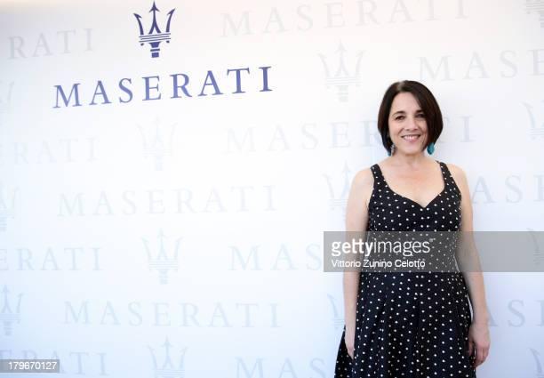 Actress Paulina Garcia attends the 70th Venice International Film Festival at Terrazza Maserati on September 6 2013 in Venice Italy