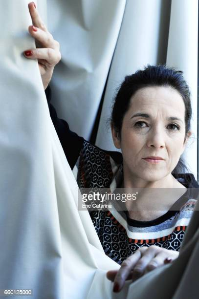 Actress Paulina Garcia is photographed for Self Assignment on February 17 2011 in Berlin Germany