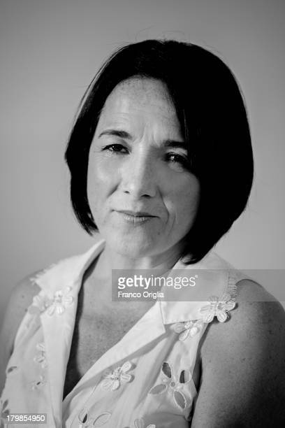 Actress Paulina Garcia poses for the 'Illiterate' portrait session as part of the 70th Venice International Film Festivalon on September 5 2013 in...