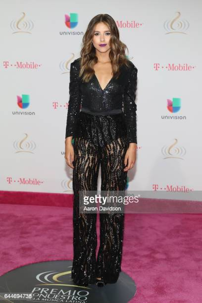 Actress Paulina Goto attends Univision's 29th Edition of Premio Lo Nuestro A La Musica Latina at the American Airlines Arena on February 23 2017 in...