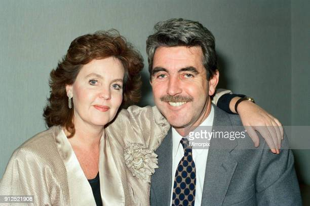 Actress Pauline Collins and husband actor John Alderton 1st February 1989