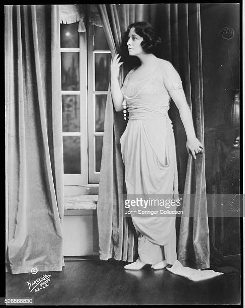 Actress Pauline Frederick by a Window