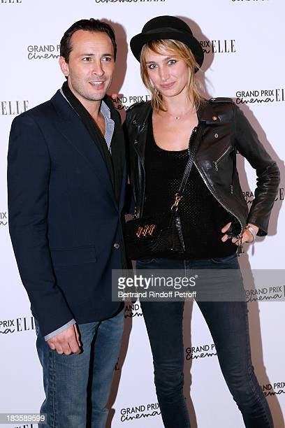 Actress Pauline Lefevre and Michael Cohen attend 'Grand Prix Elle Cinema 2013' held at Cinema Gaumont ChampsElysees Marignan on October 7 2013 in...