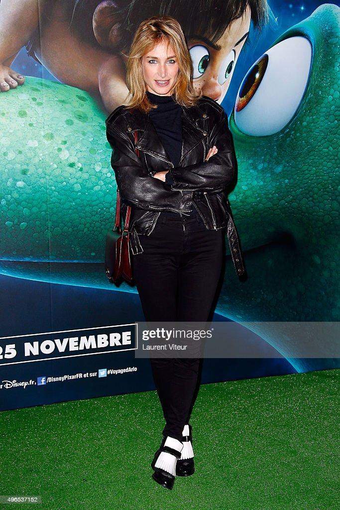 """""""Le Voyage d'Arlo - The Good Dinosaur"""" Paris Premiere at le Grand Rex"""