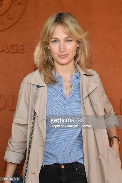 Actress Pauline Lefevre attends the 2018 French Open Day Twelve at Roland Garros on June 7 2018 in Paris France
