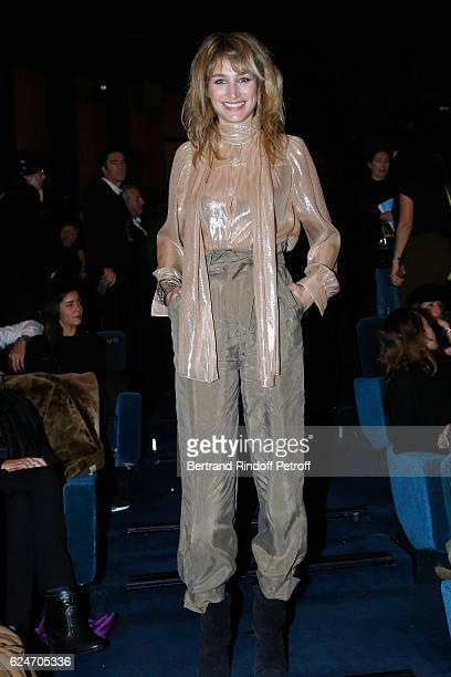 Actress Pauline Lefevre attends the 'Allied Allies' Paris Premiere at Cinema UGC Normandie on November 20 2016 in Paris France