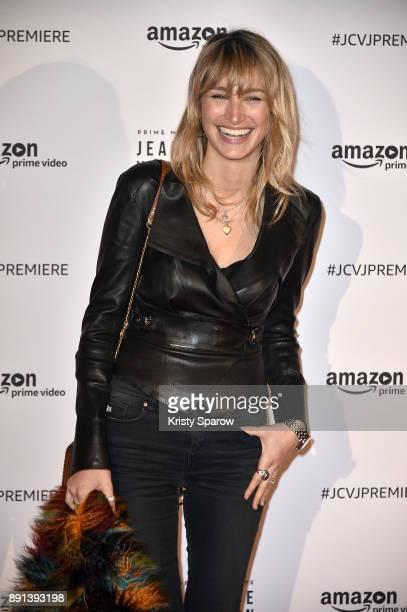 Actress Pauline Lefevre attends the Amazon TV series 'Jean Claude Van Johnson' Premiere at Le Grand Rex on December 12 2017 in Paris France
