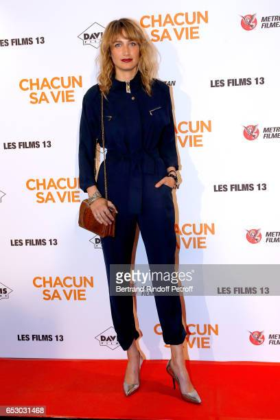Actress Pauline Lefevre attends the 'Chacun sa vie' Paris Premiere at Cinema UGC Normandie on March 13 2017 in Paris France