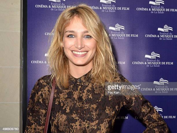 Actress Pauline Lefevre attends the 'Cinema Et Musique De Film' Festival At La Baule Day Two At Hotel Hermitage Barriere in la Baule on November 12...