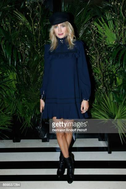 Actress Pauline Lefevre attends the 'Diner des Amis de Care' at Hotel Peninsula Paris on October 9 2017 in Paris France