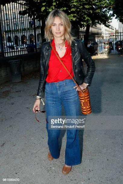 Actress Pauline Lefevre attends the Fete Des Tuileries on June 22 2018 in Paris France