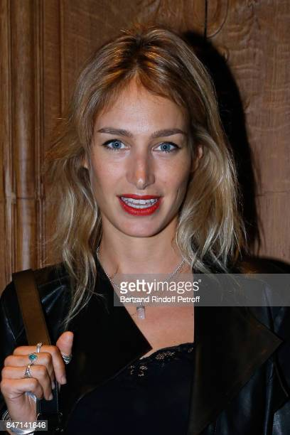 Actress Pauline Lefevre attends the Reopening of the Hotel Barriere Le Fouquet's Paris decorated by Jacques Garcia at Hotel Barriere Le Fouquet's...