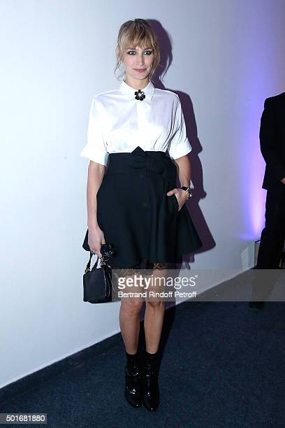 Actress Pauline Lefevre wearing Van Cleef Arpels jewelry attends the Annual Charity Dinner hosted by the AEM Association Children of the World for...