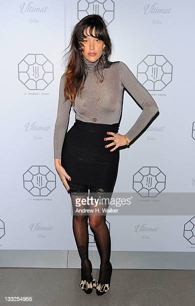 Actress Paz de la Huerta attends launch event for the YJ Multiplicity by Robert Verdi Jewelry Collection presented by Yasmin Jazmin at The...