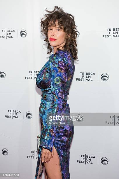 Actress Paz de la Huerta attends the 'Bare' premiere during the 2015 Tribeca Film Festival at SVA Theatre 2 on April 19 2015 in New York City